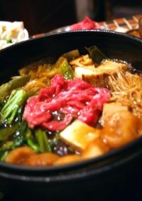 きのこたっぷり♫やわらかお肉のすき焼き