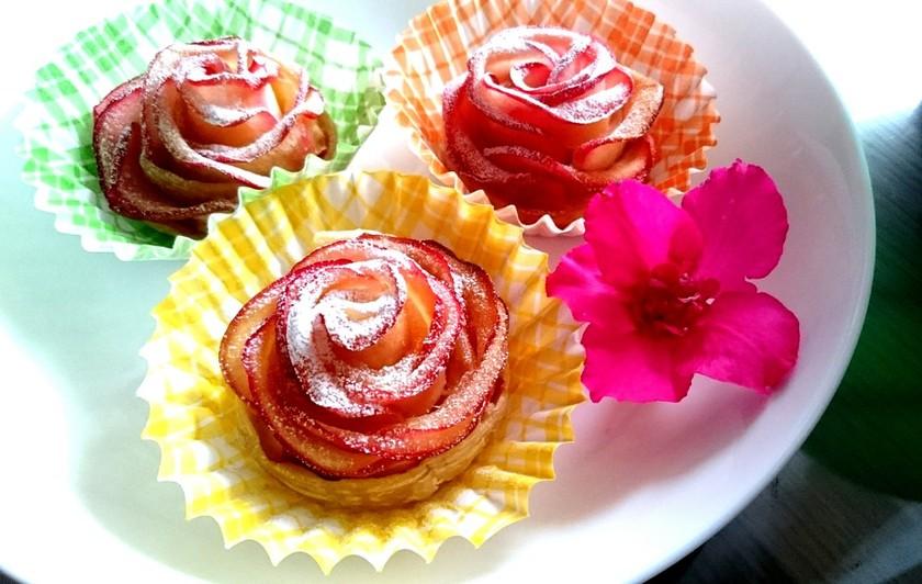 ♥薔薇のアップルパイ♥