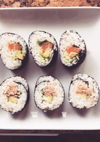 巻き寿司 in USA