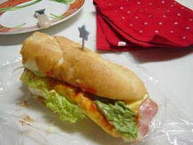 あさごはん サンドイッチ