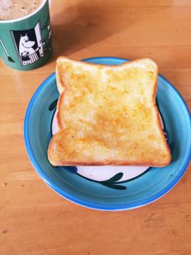 ジャムバタートースト!簡単!朝食!