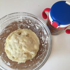 ☆バナナの蒸しパン☆1歳簡単おやつ幼児食