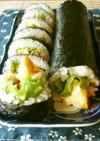 節分の恵方巻にも♪チキン南蛮の巻寿司