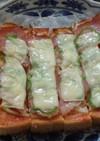 スティックピザトースト
