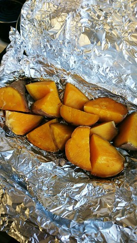 オーブンで甘~い♥安納芋の焼き芋♥