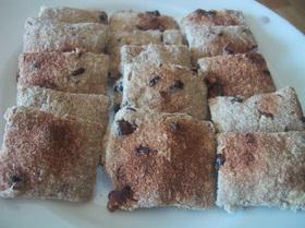 材料3つ*お豆腐とおから小豆のクッキー