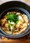 土鍋牡蠣ご飯♡バター醤油味♪