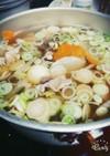 具だくさんな芋煮汁風★。