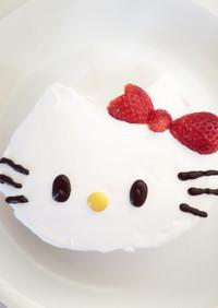 超簡単! キティちゃん ケーキ 誕生日