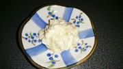 離乳食★柿とさつまいものヨーグルトサラダの写真