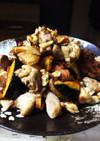 鶏肉と野菜のニンニク炒め