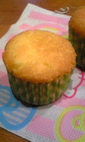 ♡しっとりふわふわ♡レモンカップケーキ♡