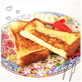 簡単!食パンでフレンチトースト
