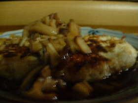 鶏ーふハンバーグ