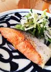 フライパンでふっくら〜☆ 焼き鮭の焼き方