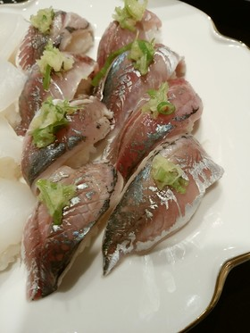 小鯵のにぎり寿司
