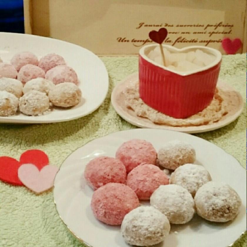 かわいい!バレンタインデー♡スノーボール