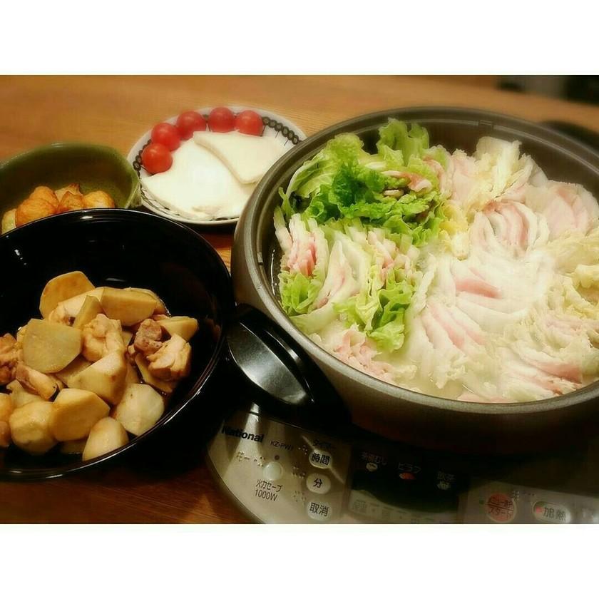 5分で完成♡白菜と豚肉のミルフィーユ鍋