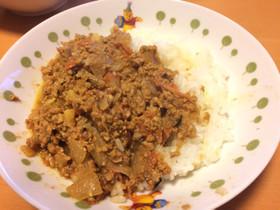 スパイスから作るインドカレー