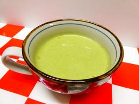 青汁入り豆乳コーンスープ♪