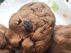 チョコレート・レーズン・クッキー