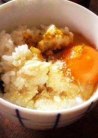 卵かけご飯でドリア風⋆TKG