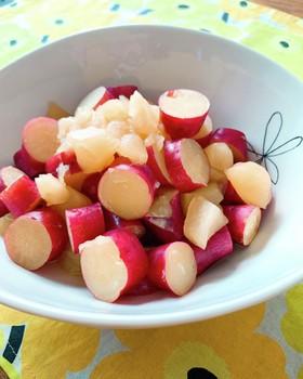 炊飯器♪さつまいも&りんごの蜂蜜煮♪