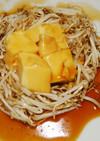 巣ごもり卵豆腐