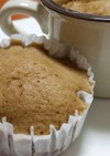 HM&ホエーdeシナモンコーヒー蒸しパン
