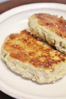 昼夕弁当♪レンコン豆腐おからハンバーグ