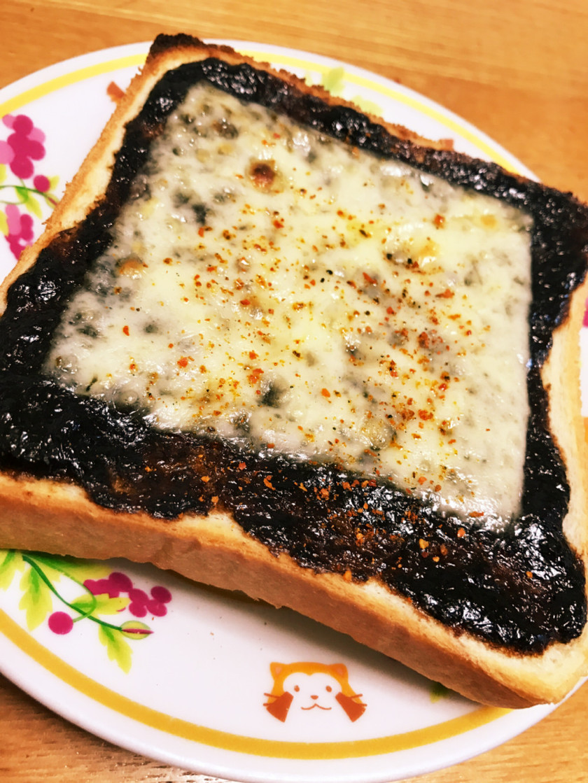 磯の香りがふわっと☆岩のりチーズトースト