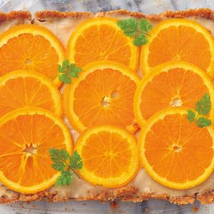 オレンジティータルト