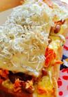 チーズとマヨネーズの納豆トースト