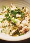 鯵(アジ)と高菜の混ぜご飯