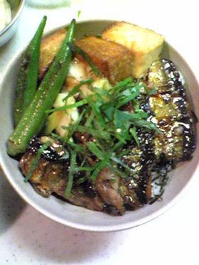 秋刀魚の蒲焼き、こっくりボリュームだよw