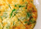 【卵不要】簡単カリカリ♡ニラチーズチヂミ