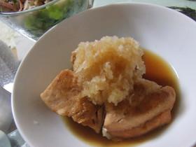 焼き鮭のおろしポン酢かけ☆