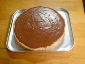 チョコレートババロアタルト