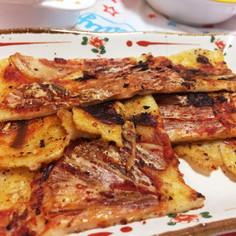 キムチチヂミ簡単に料理