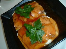 簡単!!鮭と豆腐の重ね蒸し