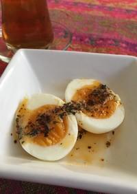 ゆで卵をバターソースで☆トルコ
