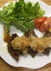 和風・牛もも肉のステーキ
