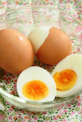 圧力鍋でゆで卵