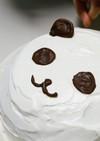 スポンジでふわヒヤ♪うさぎのアイスケーキ