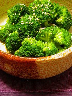 ブロッコリーの和風な小鉢