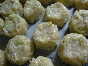 豆腐とおからの手作りカニシュウマイ