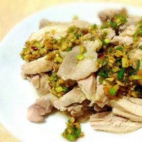 簡単台湾料理☆葱油鶏