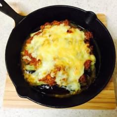 〜とろ〜りチーズと茄子のミートソース焼〜