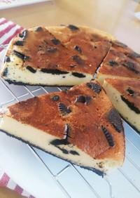 ヘルシーなオレオチーズケーキ