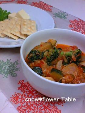 たっぷりごろごろ☆野菜たっぷりスープ